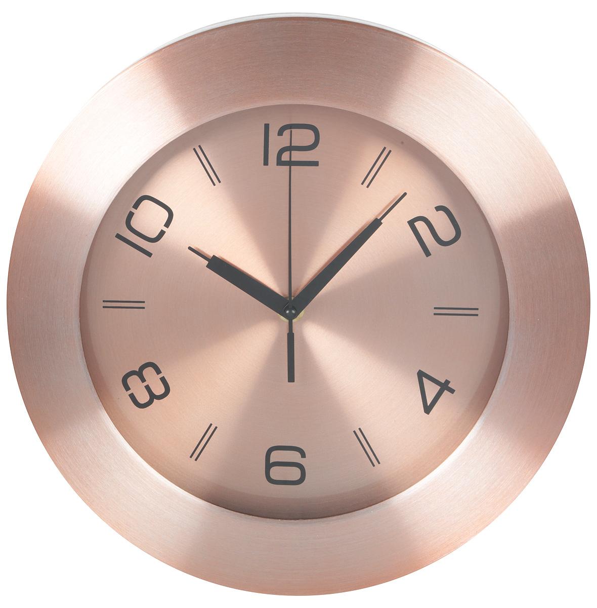 Часы настенные Arte Nuevo, диаметр 30 смEG7763-CU97Часы настенные Arte Nuevo станут изюминкой в дизайне интерьера вашегодома. Часы имеют три стрелки - часовую, минутную и секундную. Часовоймеханизм сзадизакрыт пластиковым корпусом. Предусмотрено отверстие для крепления настену. Диаметр часов: 30 см.