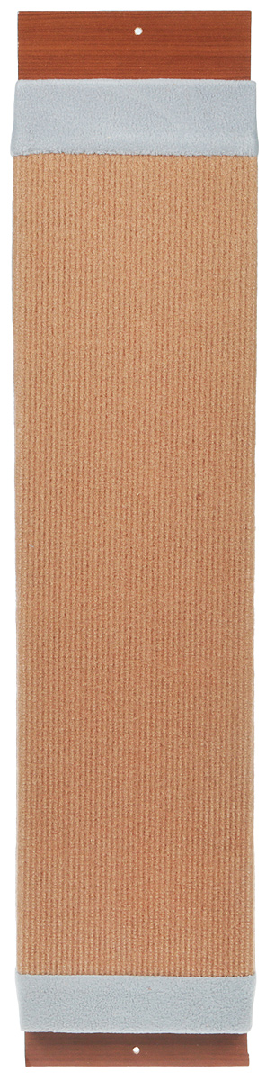 Когтеточка навесная Уют, ковролин, цвет: коричневый, серый, 72 х 17 х 5 смСК213Когтеточка навесная Уют выполнена из ковролина. Всем кошкам необходимо точить когти. Чтобы уберечь вашу мебель и ковры от посягательств, кошке нужна когтеточка. Подвешивать когтеточку необходимо на такой высоте, чтобы кошка могла встать на задние лапы и полностью вытянуть вверх передние. Для приучения к когтеточке ее можно натереть валерианой или кошачьей мятой.