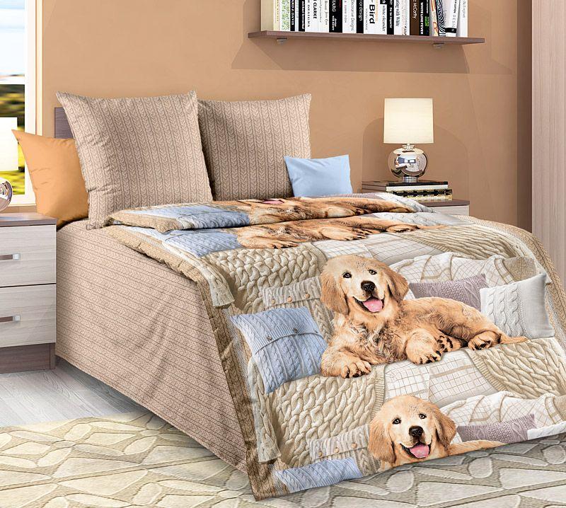 Комплект белья Текс Дизайн Чакки, 1,5-спальный, наволочки 70x70. 1130А комплект белья текс дизайн леопард 2 спальный наволочки 70x70 2100б