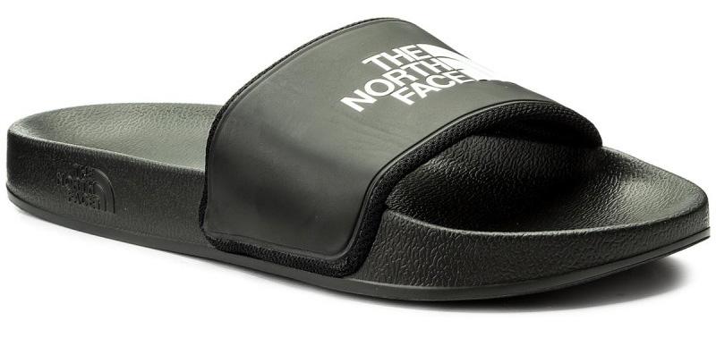 Шлепанцы мужские The North Face M BC Slide II, цвет: черный. T93FWOKY4. Размер 14 (48)T93FWOKY4Мужские шлепанцы The North Face полностью выполнены из материала ЭВА. Рельефная поверхность верхней части подошвы обеспечивает комфорт при движении. Основание подошвы дополнено рифлением.