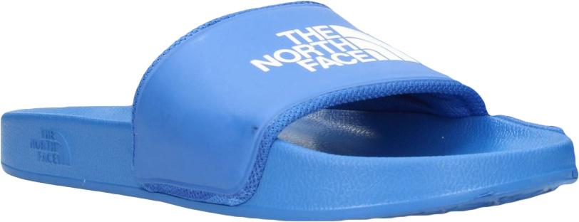 Шлепанцы мужские The North Face M BC Slide II, цвет: голубой. T93FWO1UZ. Размер 11 (44,5)T93FWO1UZМужские шлепанцы The North Face полностью выполнены из материала ЭВА. Рельефная поверхность верхней части подошвы обеспечивает комфорт при движении. Основание подошвы дополнено рифлением.