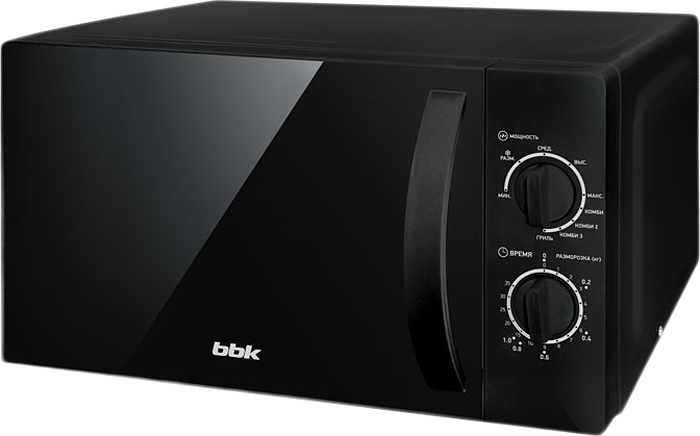 BBK 20MWG-739M/B микроволновая печь микроволновая печь bbk 23mws 927m w 900 вт белый