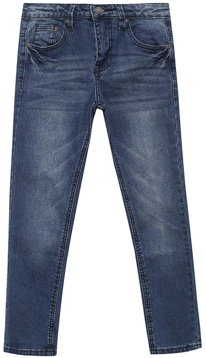 Джинсы для мальчика Sela, цвет: темно-синий джинс. PJ-835/865-8162. Размер 122, 7 летPJ-835/865-8162