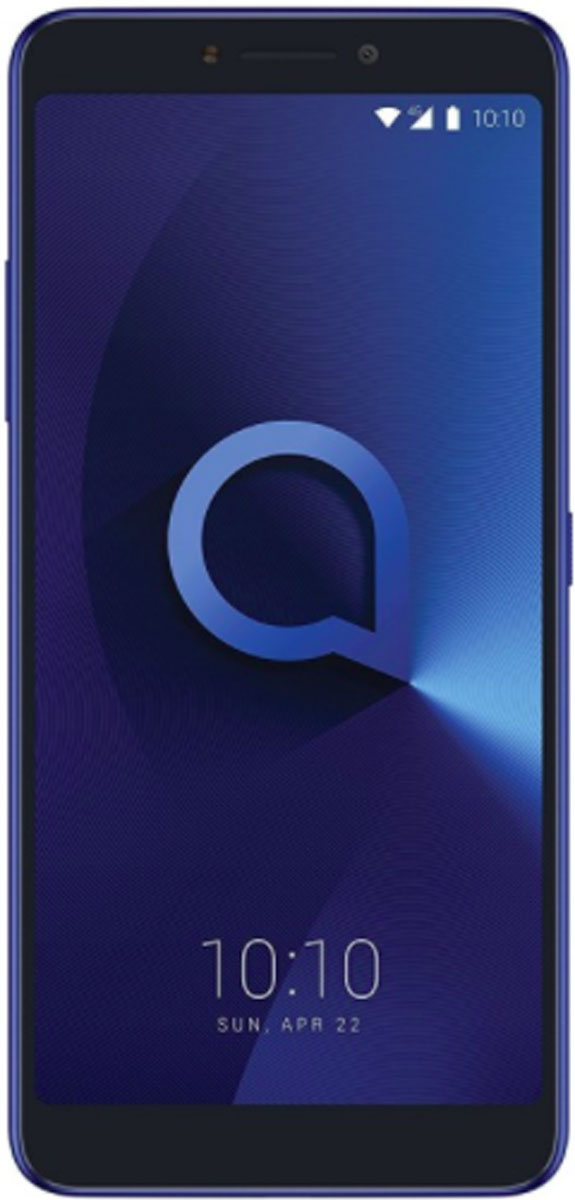 Alcatel 5099D 3V, Black Blue