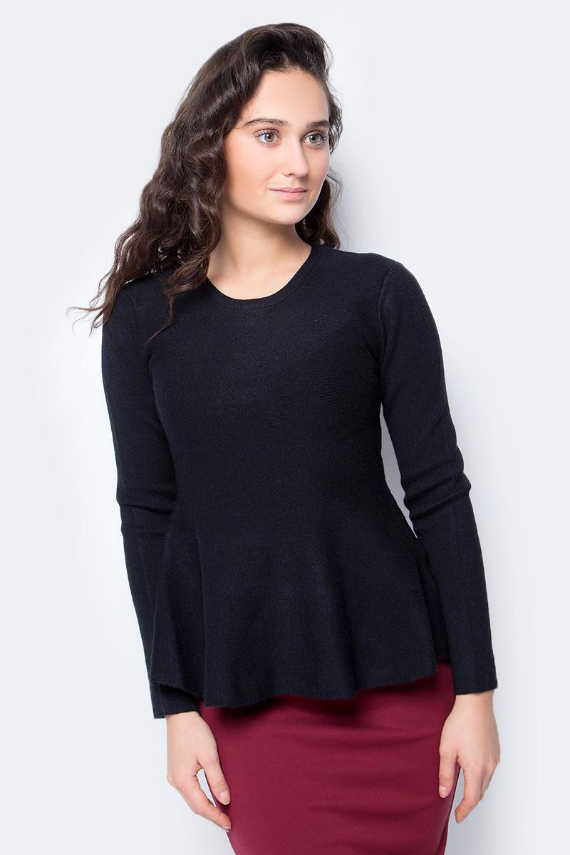 Джемпер женский Lusio, цвет: черный. AW18-340030. Размер S/M (42/46) куртка кожаная lusio lusio lu018ewahka5