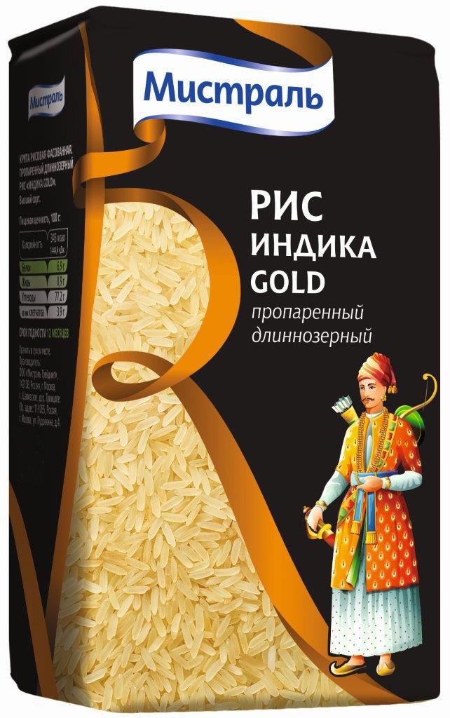 Мистраль Рис Индика Gold, 450 г мистраль рис акватика color mix 500 г