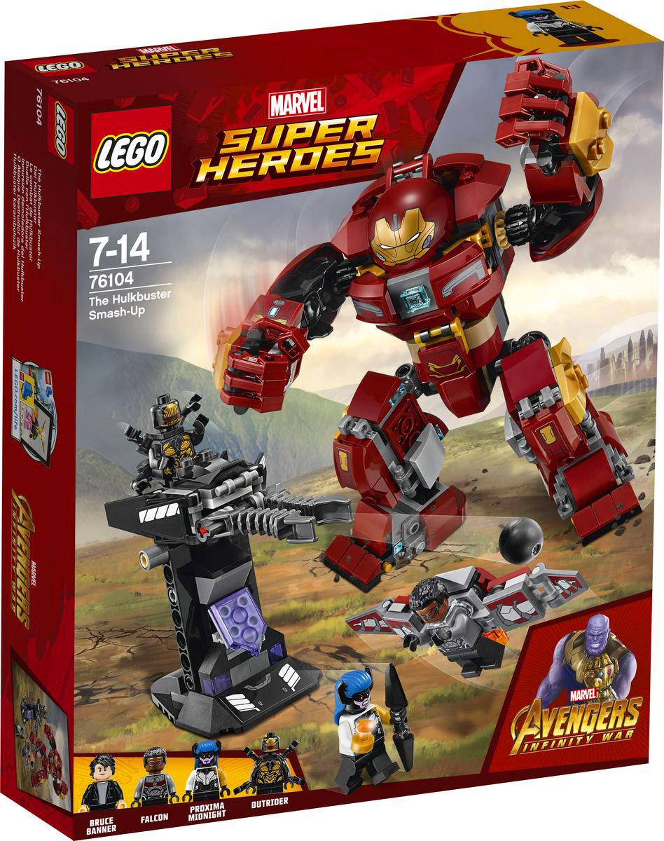 LEGO Super Heroes Конструктор Бой Халкбастера 76104
