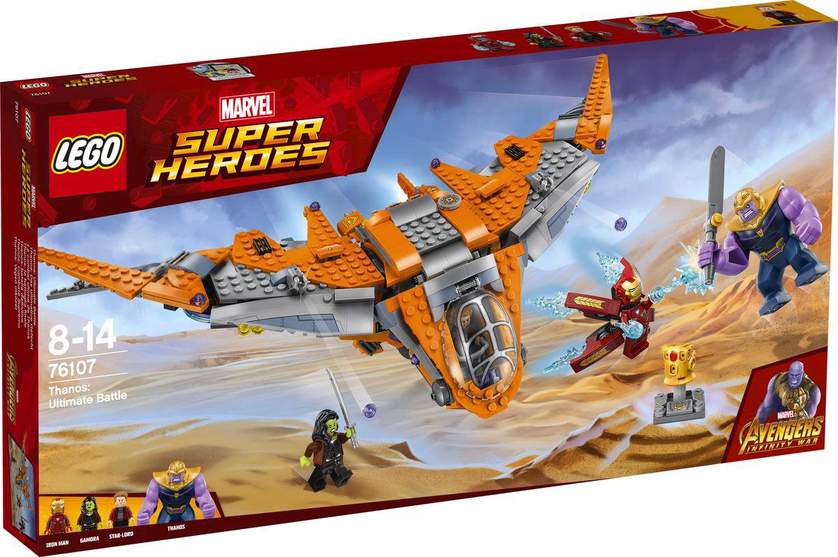 LEGO Super Heroes Конструктор Танос Последняя битва 76107 конструктор lego танос последняя битва 76107
