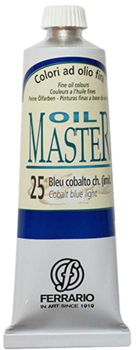 Фото Ferrario Краска масляная Oil Master цвет №25 кобальт синий