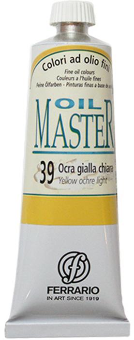 Ferrario Краска масляная Oil Master цвет №39 светло-желтая охраAM0030CO039Масло OIL MASTER итальянской компании Ferrario подходит как начинающим художникам, так и профессионалам. Краска изготавливается из светостойких пигментов мелкого помола. Благодаря тому, что некоторые натуральные пигменты были заменены на аналоги краски серии OIL MASTER стали более доступны по цене. Светостойкие краски отлично лессируются и хорошо смешиваются между собой. Краску можно разбавлять льняным маслом, терпентином или нефтяными разбавителями. В работе с красками используют кисти из щетины, синтетики и волоса колонка. Серия состоит из 50 цветов.