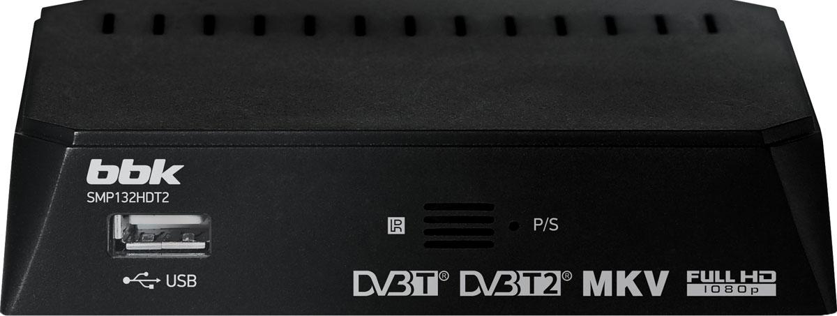 BBK SMP132HDT2, Black цифровой ТВ-ресивер - ТВ-ресиверы