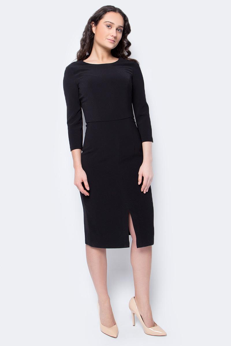 Платье Lusio, цвет: черный. AW18-020243. Размер XS (40/42) платье lusio lusio lu018ewubt88