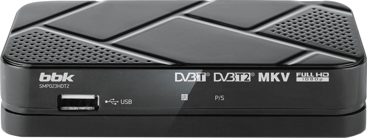 BBK SMP023HDT2, Dark Grey цифровой ТВ-ресивер картридж nv print q7516a для hp lj 5200 5200dtn 5200l 5200tn 5200n 5200lx