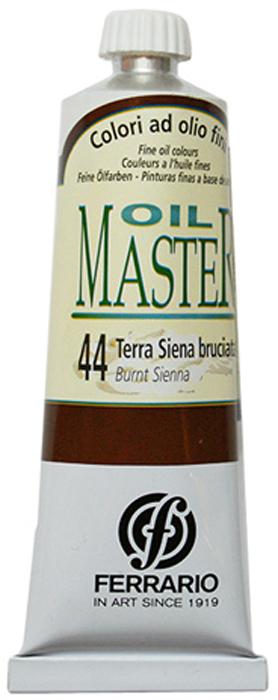 Ferrario Краска масляная Oil Master цвет №44 жженая сиенаAM0030CO044Масло OIL MASTER итальянской компании Ferrario подходит как начинающим художникам, так и профессионалам. Краска изготавливается из светостойких пигментов мелкого помола. Благодаря тому, что некоторые натуральные пигменты были заменены на аналоги краски серии OIL MASTER стали более доступны по цене. Светостойкие краски отлично лессируются и хорошо смешиваются между собой. Краску можно разбавлять льняным маслом, терпентином или нефтяными разбавителями. В работе с красками используют кисти из щетины, синтетики и волоса колонка. Серия состоит из 50 цветов.