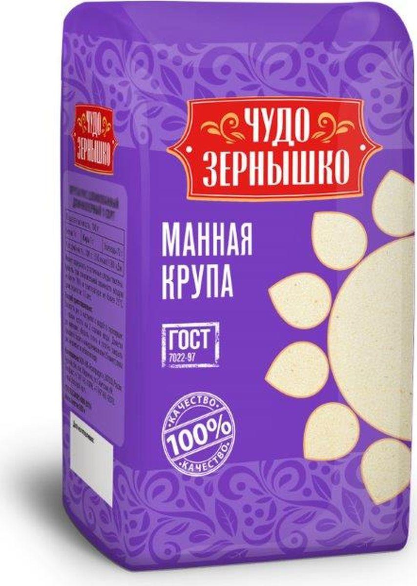 купить Чудо Зернышко Крупа манная, 700 г по цене 34 рублей