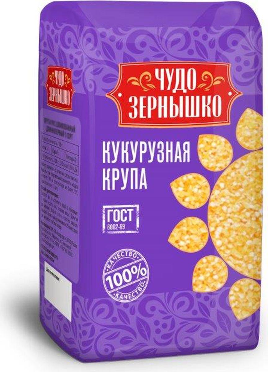 купить Чудо Зернышко Крупа кукурузная, 700 г по цене 35 рублей