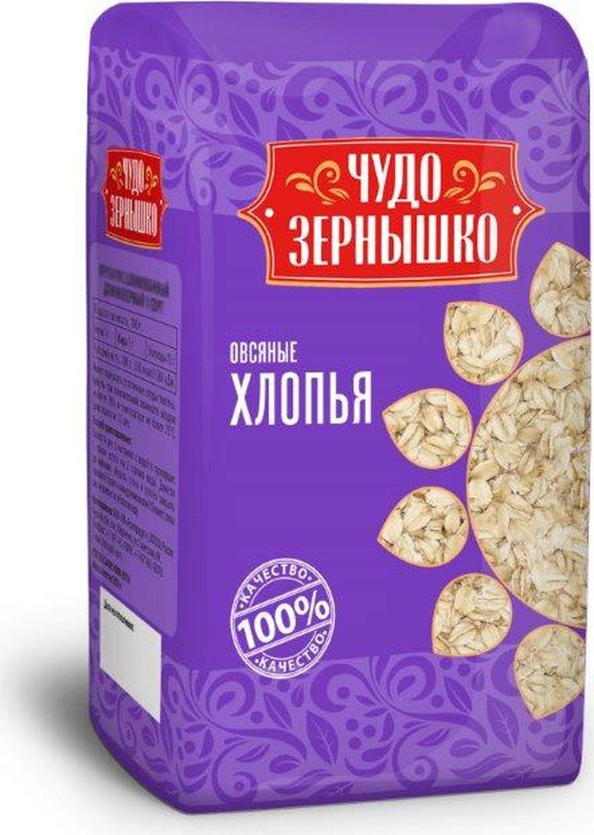 купить Чудо Зернышко Хлопья овсяные, 400 г по цене 25 рублей