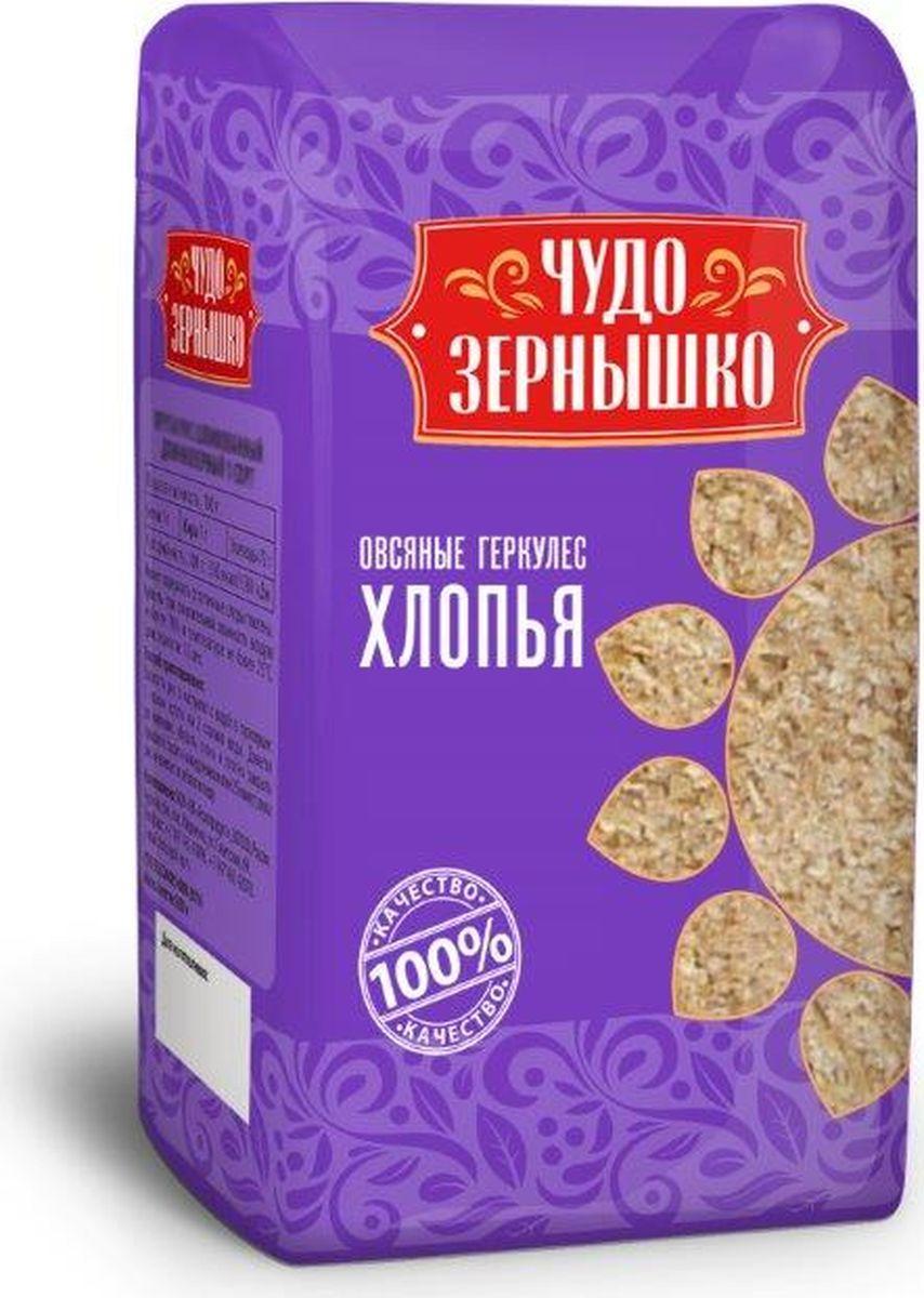 купить Чудо Зернышко Хлопья геркулес, 400 г по цене 26 рублей