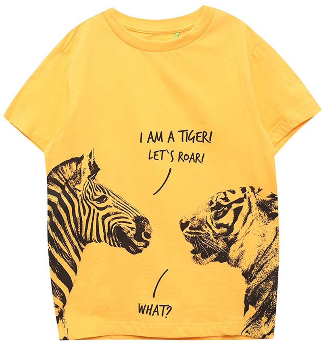 Футболка для мальчика Sela, цвет: банановый. Ts-811/281-8213. Размер 152, 12 лет футболка для мальчика sela цвет банановый ts 811 281 8213 размер 152 12 лет