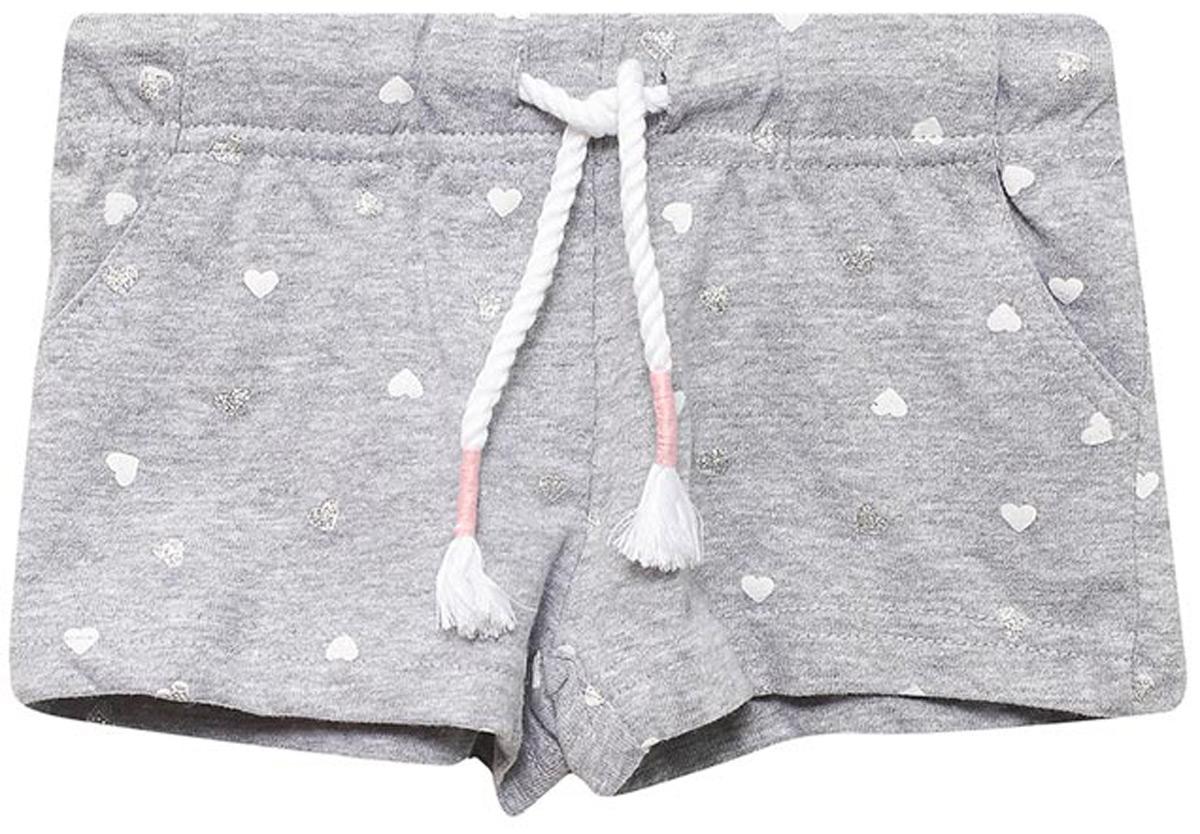 Шорты для девочки Sela, цвет: серый. SHk-515/521-8213. Размер 104, 4 года шорты sela sela se001empop66