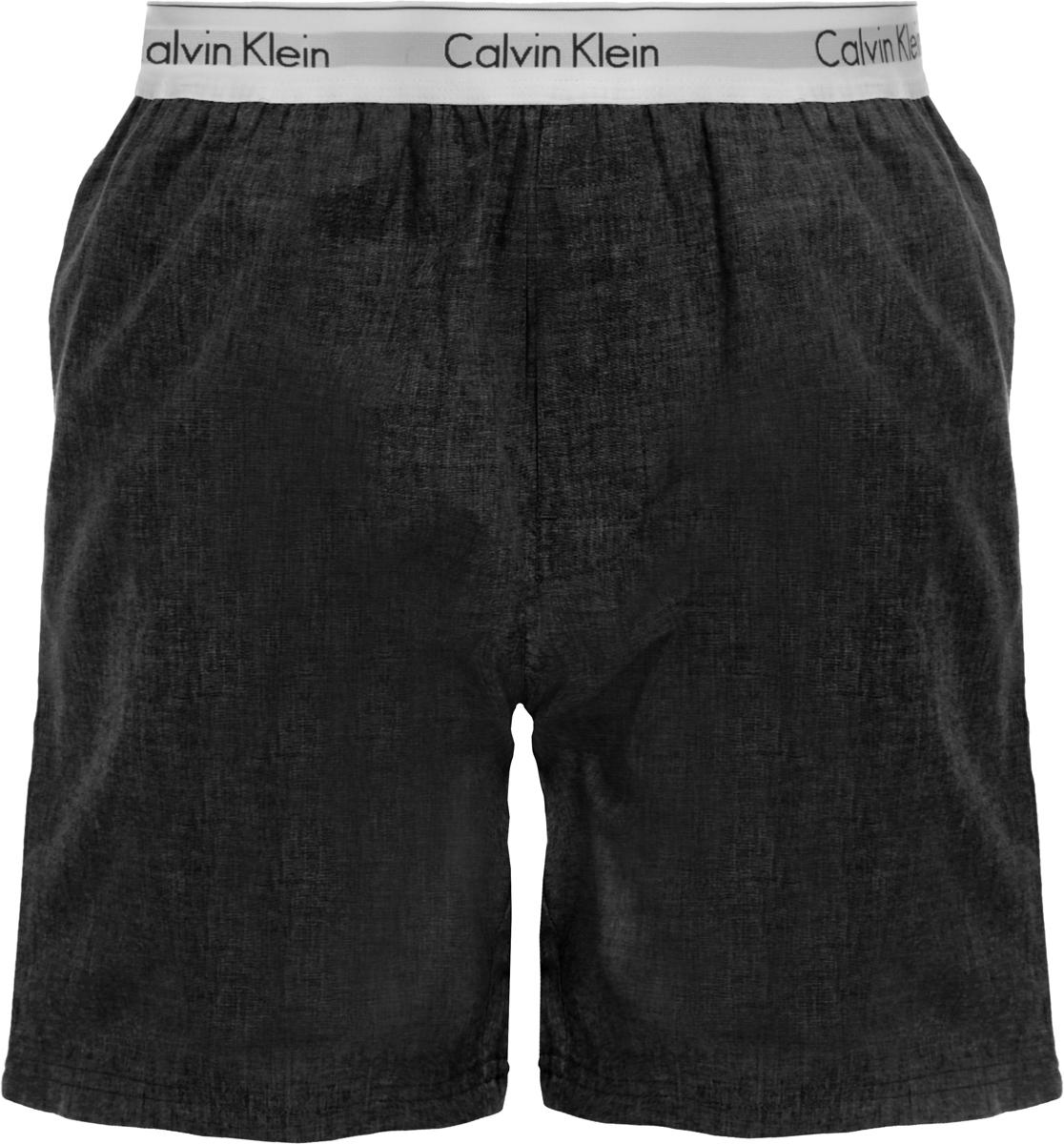 Шорты для дома мужские Calvin Klein Underwear, цвет: темно-серый. NM1523E_038. Размер XL (52) оправа для очков calvin klein calvinklein ck5846a