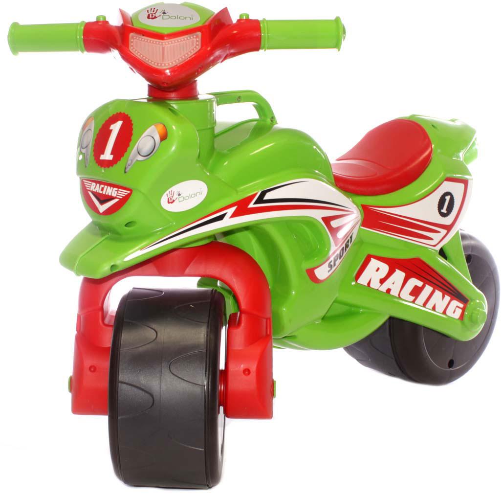 Doloni Байк-каталка Sport, цвет красный зеленый