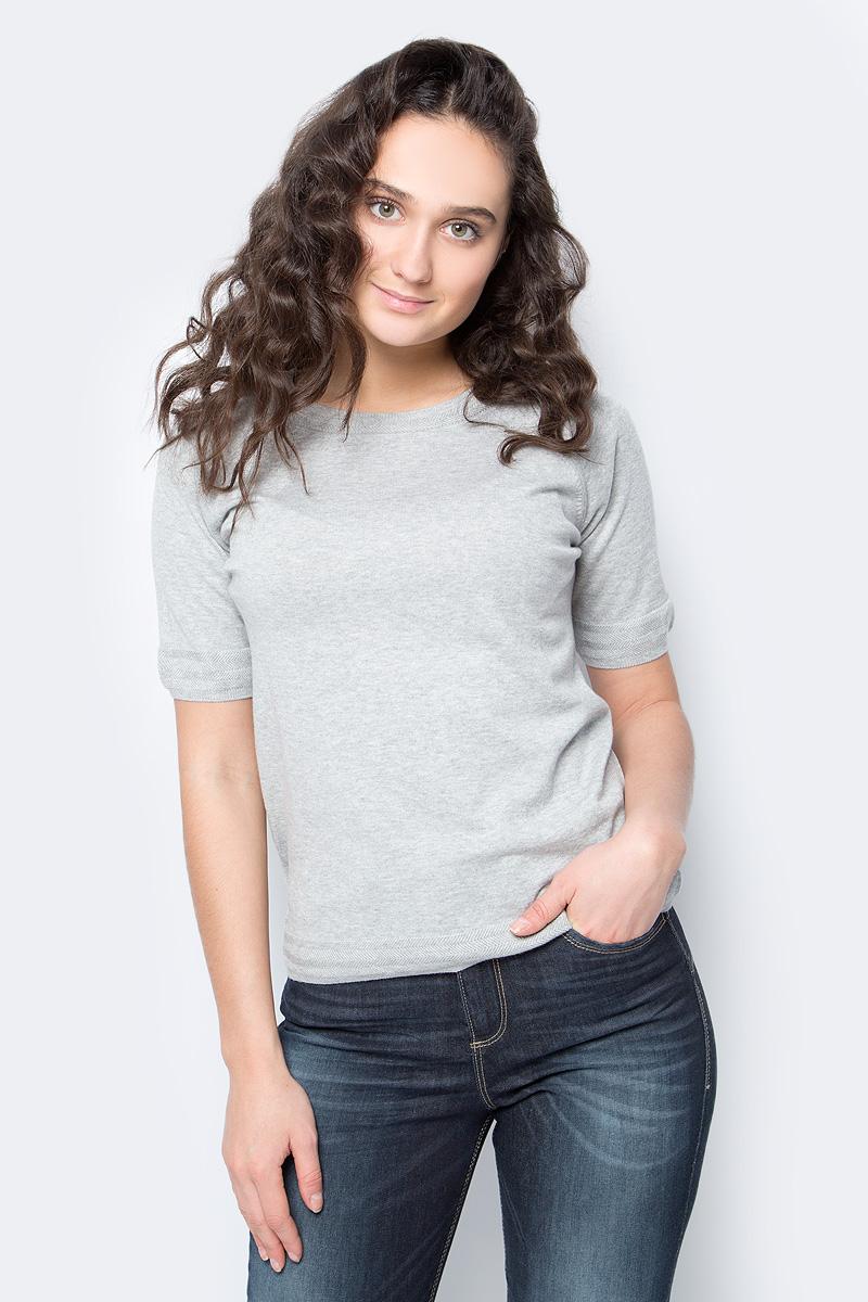 Джемпер женский United Colors of Benetton, цвет: серый. 1094D1F67_501. Размер L (46/48) картридж canon pg 40 черный pixma mp450 mp150 mp170 ip1600 ip2200 ip6210d 0615b025
