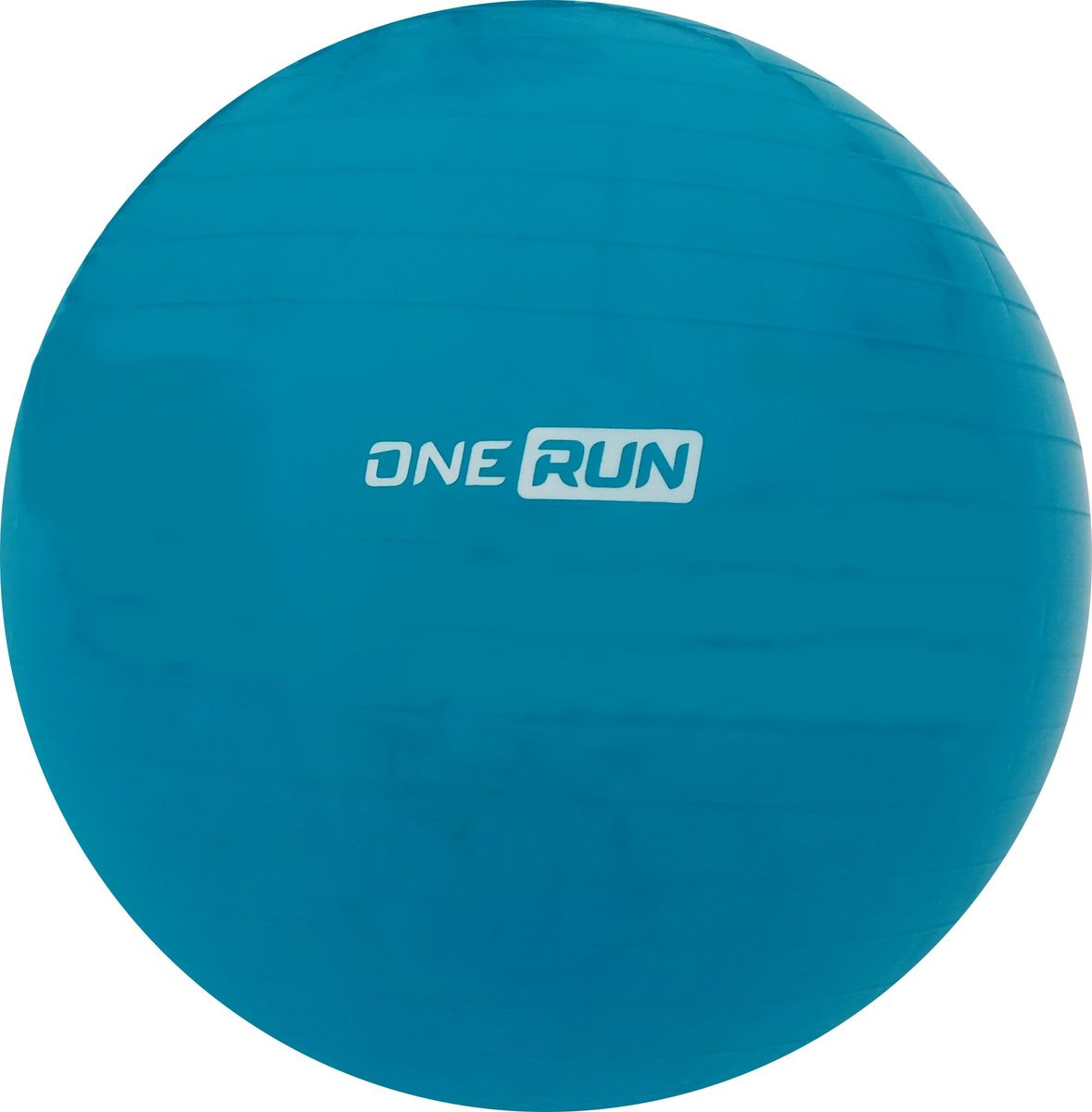 Мяч гимнастический OneRun, цвет: голубой, 65 см гимнастический шар 65 см