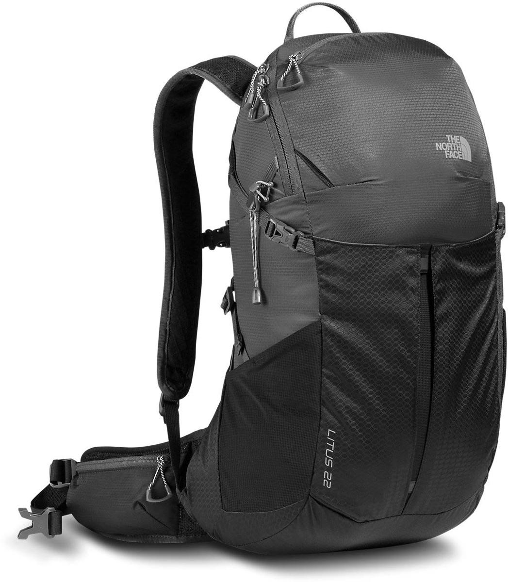 Рюкзак спортивный The North Face Litus 22-RC, цвет: черный. T92ZDYMN8T92ZDYMN8