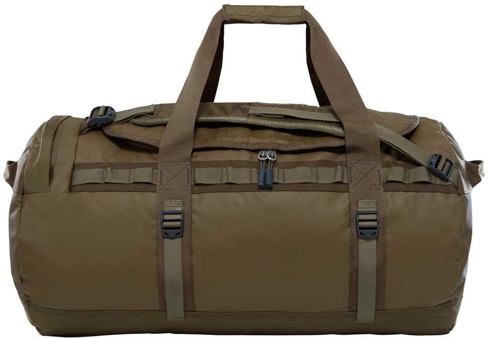 Сумка дорожная The North Face Base Camp Duffel - M, цвет: коричневый. T93ETPYQWT93ETPYQWДорожная сумка The North Face Base Camp Duffel - знаменитый экспедиционный баул, который ценят по всему миру за его надежность.У сумки предусмотрен боковой карман на молнии для телефона или необходимых в пути документов, улучшенные эргономичные плечевые лямки, новые мягкие боковые ручки, которые позволяют с удобством переносить (или тащить) тяжелые грузы. Проверенная временем конструкция из нейлона баллистик все так же надежна, как и прежде.