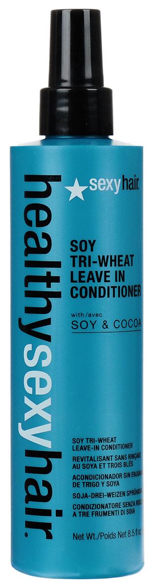 Sexy Hair Кондиционер для волос Healthy, несмываемый, 250 млЗД17Три протеина пшеницы обволакивают волосы, закрывая кутикулы, что обеспечивает легкоерасчесывание. Протеины сои глубоко проникают в волосы, активно питают, укрепляют иувлажняют их, предохраняя от негативного воздействия солнечных лучей и окружающей среды.Укрепляет, смягчает и моментально распутывает волосы, защищает от статическогоэлектричества.Наносить на влажные волосы после мытья шампунем, приподнимая пряди. Не смывать.Характеристики:Объем: 250 мл. Производитель: США. Товар сертифицирован.Уважаемые клиенты! Обращаем ваше внимание на то, что упаковка может иметь несколько видов дизайна.Поставка осуществляется в зависимости от наличия на складе.