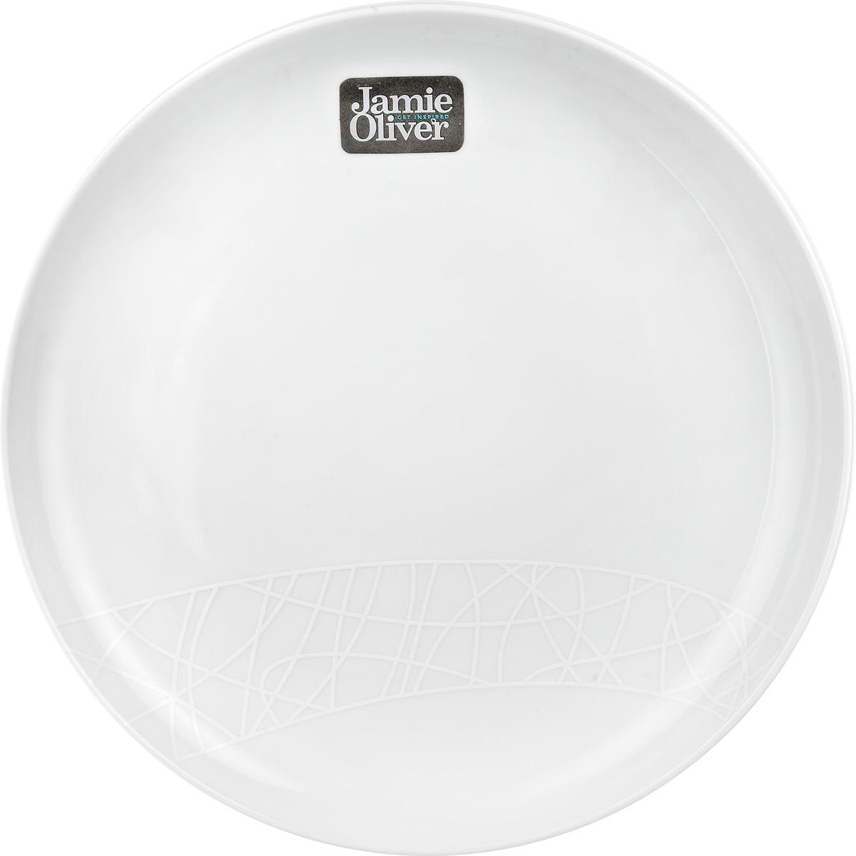 Тарелка обеденная Churchill, цвет: белый, диаметр 27 см. 670201101670201101Обеденная тарелка Churchill, изготовленная извысококачественного фаянса, имеет классическую круглуюформу и простым орнаментом с тонкими текстурными линиями. Онапрекрасно впишется в интерьер вашей кухни истанет достойным дополнением к кухонному инвентарю.Десертная тарелка Churchill подчеркнетпрекрасный вкус хозяйки и станет отличным подарком. Диаметр тарелки (по верхнему краю): 27 см.