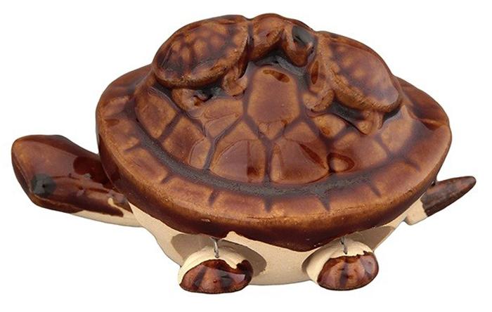 Фигурка декоративная Elan Gallery 3 черепашки, цвет: коричневый, 7 х 5,5 х 5 см elan gallery