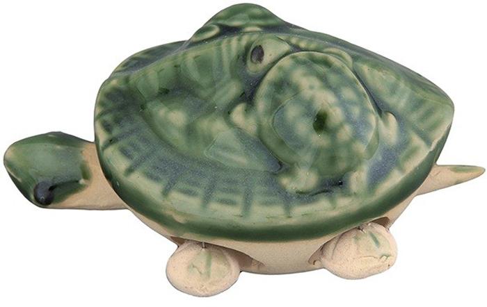 Фигурка декоративная Elan Gallery Черепашки, цвет: зеленый, 7 х 5,5 х 5 см фигурка декоративная elan gallery друзья на отдыхе высота 19 5 см