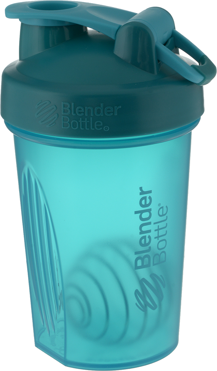 Шейкер спортивный BlenderBottle Classic Full Color, цвет: бирюзовый, 591 млBB-CL20-FTEA_бирюзовыйШейкер спортивный BlenderBottle Classic Full Color, цвет: бирюзовый, 591 мл