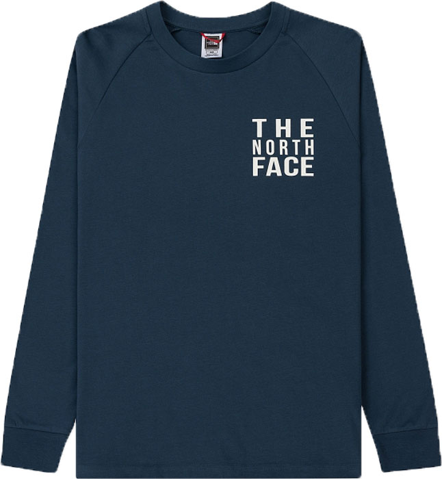 Лонгслив мужской The North Face M Ones Tee, цвет: синий. T93BPNN4L. Размер XXL (56)T93BPNN4LУдобный лонгслив от The North Face с длинными рукавами для прохладных дней во время путешествий в горах. Модель с круглым вырезом горловины на груди оформлена надписью с названием бренда.