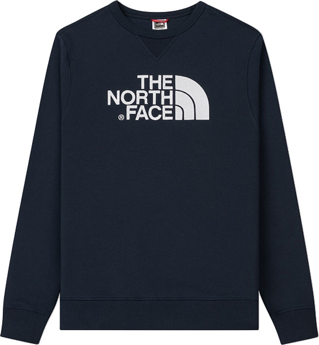 Свитшот мужской The North Face M Drew Peak Crew, цвет: синий. T92ZWRM6S. Размер M (50)