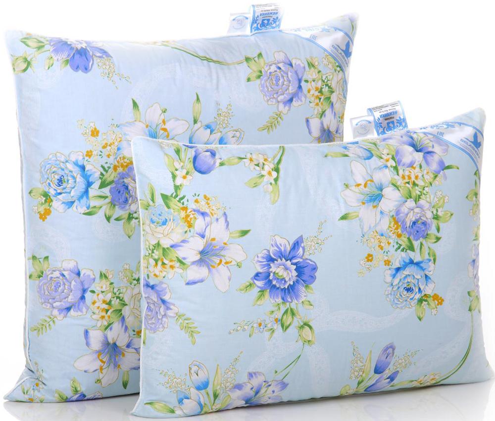 """Перо-пуховая подушка """"Неженка"""" подарит удивительно нежное домашнее тепло Вам и Вашим близким, обеспечив комфортную поддержку головы и шеи во время сна."""