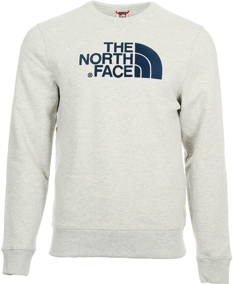 Свитшот мужской The North Face M Drew Peak Crew, цвет: белый. T92ZWRCEJ. Размер L (52)