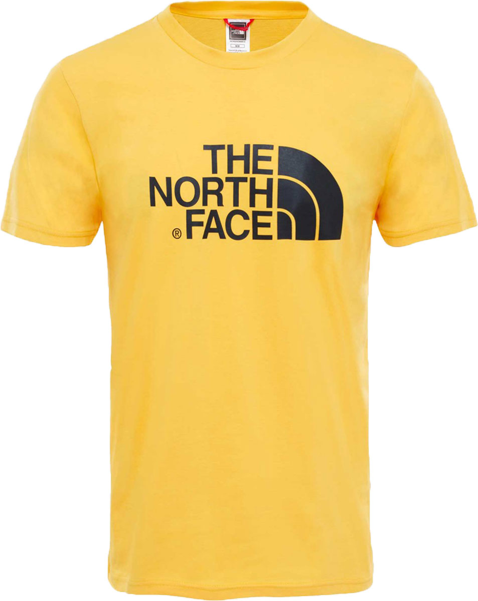 Футболка мужская The North Face M S/S Easy Tee, цвет: желтый. T92TX370M. Размер XL (54) футболка the north face the north face youth short sleeve easy tee детская