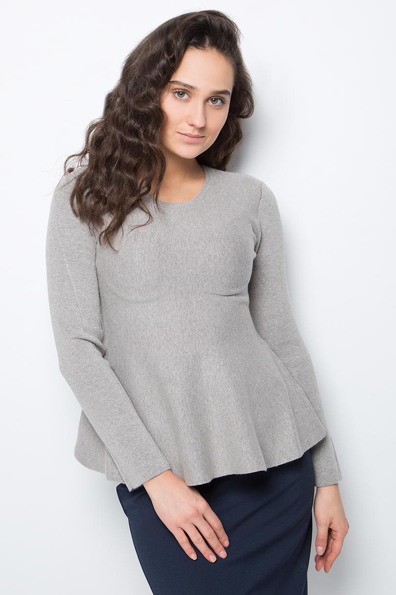 Джемпер женский Lusio, цвет: серый. AW18-340030. Размер S/M (42/46) куртка кожаная lusio lusio lu018ewahka5