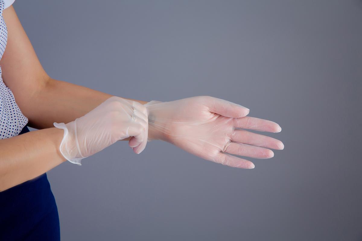Benovy Перчатки виниловые неопудренные, 100 шт. Размер L benovy перчатки нитриловые цвет фиолетовый 100 шт размер l