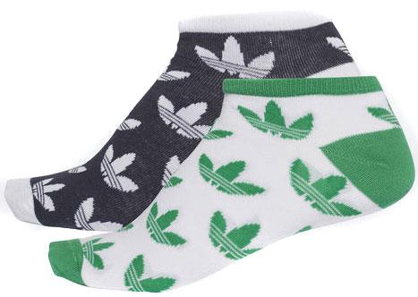 Носки Adidas T Liner Tre, цвет: синий, белый, зеленый, 2 пары. CE5728. Размер 43/46CE5728Носки adidas изготовлены из высококачественного эластичного хлопка с добавлением полиэстера и полиамида и оформлены эмблемами бренда. Укороченные носки с поддержкой стопы имеют эластичную резинку, которая надежно фиксирует носки на ноге. В комплект входят 2 пары носков разных цветов.