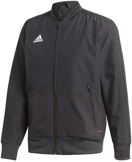 Олимпийка мужская Adidas Con18 Pre Jkt, цвет: черный. CF4305. Размер S (44/46) олимпийка adidas adidas ad094egqhw32