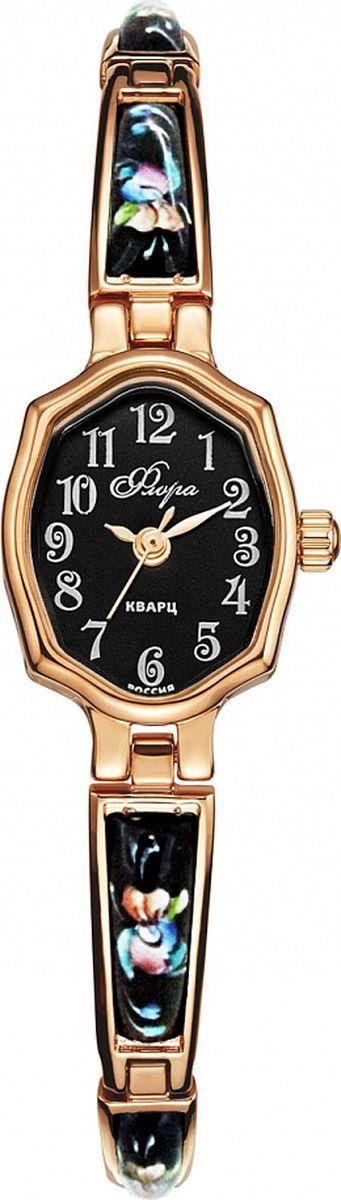 Часы наручные женские Mikhail Moskvin, цвет: золотистый, черный. 1240B3B2/24
