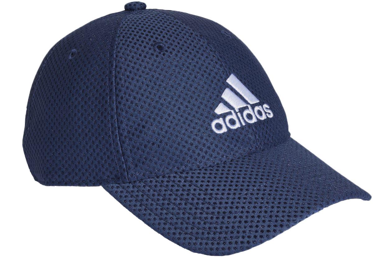 Бейсболка Adidas C40 6p Clmco Ca, цвет: темно-синий, белый. CG2312. Размер 54/56CG2312Эта бейсболка от adidas оснащена технологией Sweatband, которая не пропускает влагу, чтобы помочь сохранить сухую бровь и дает дополнительную защиту от ультрафиолетового излучения. Регулируемая застежка позволяет полностью подстраиваться под вас.