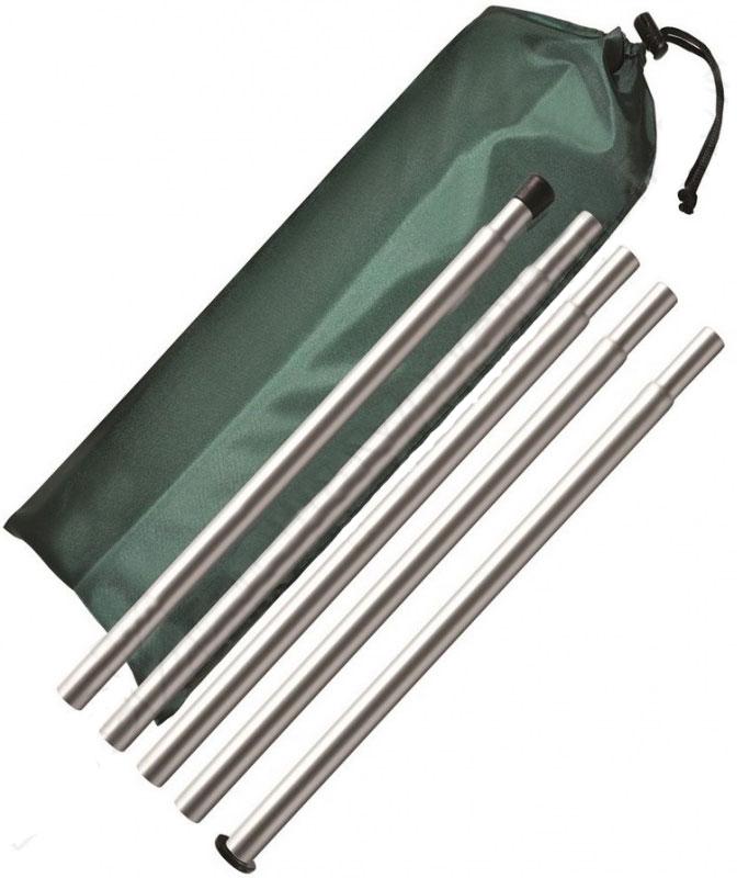 Комплект стоек для бани Nova Tour, цвет: стальной95743-000-00Комплект стоек Nova Tour помогает в установке мобильной бани. Выполнены из прочного алюминия, за счет чего имеют легкий вес и их легко транспортировать. Каждая стойка собирается из четырех частей.Стойки поставляются в прочном чехле.Длина стоек: 1,8 м.Количество стоек: 4 шт.Толщина стенки стойки: 1 мм.