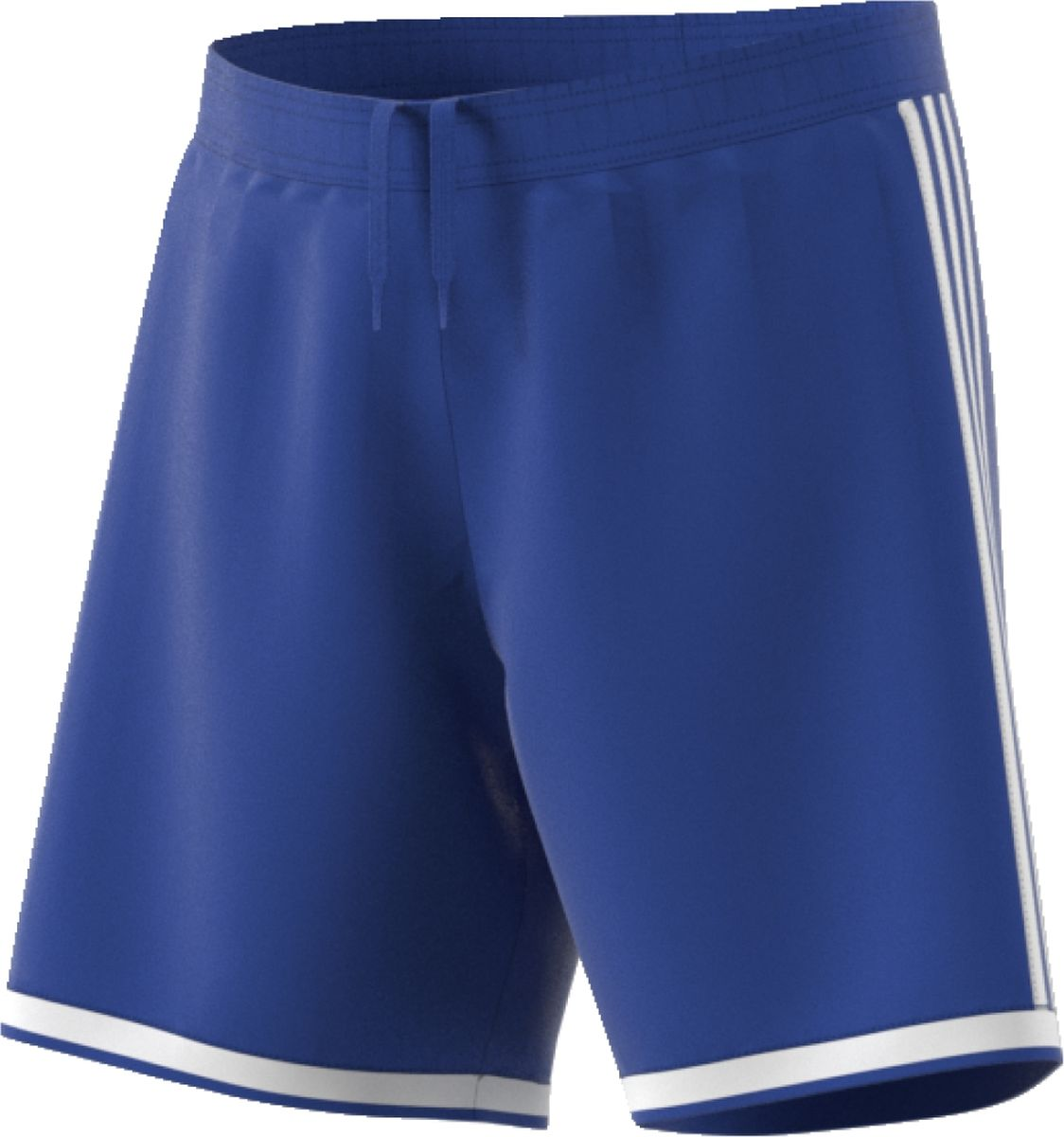 Шорты мужские Adidas Regista 18 Sho, цвет: голубой. CF9600. Размер L (52/54)CF9600Мужские спортивные шорты изготовлены из полиэстера с влагоотводящей технологией, обеспечивая сухость и комфорт во время тренировки. Модель свободного кроя с эластичным поясом. По нижнему краю изделие оформлено контрастными полосками.