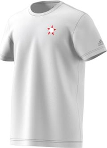 Футболка мужская Adidas Host Russia, цвет: белый. CY6327. Размер S (44/46) футболка мужская adidas rfu 3s tee цвет красный cd5275 размер s 44 46