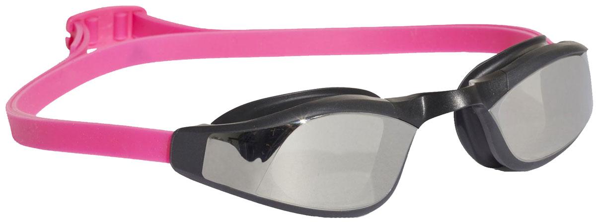 Очки для плавания Adidas Persistar Race, цвет: розовый, черный оправа для очков vw15419